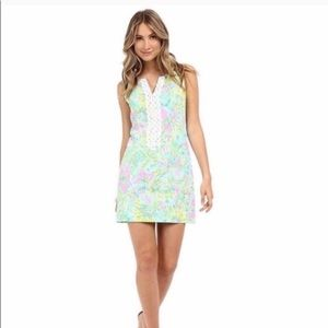 Lilly Pulitzer Coconut Jungle Cathy Shift Dress